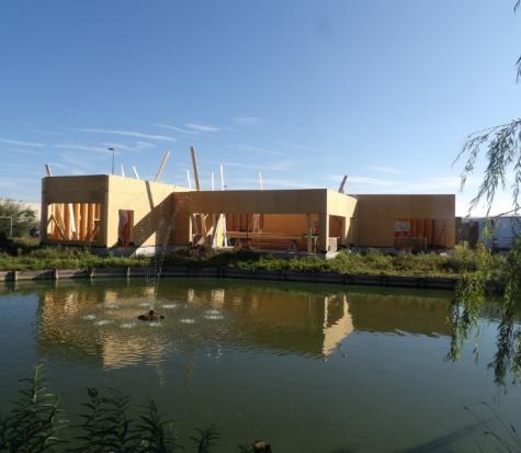 Construction d'une salle de répétition et d'un logement de fonction